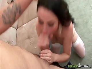 Veruca James Swallowing Cum