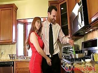 Cum Kitchen Redhead Penny Pax Gets Fucked With A Thick Dick While Cooking