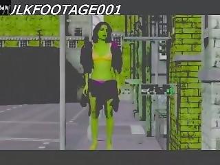 She Hulk Transformation 5.5 (transformation 6 Prequel)