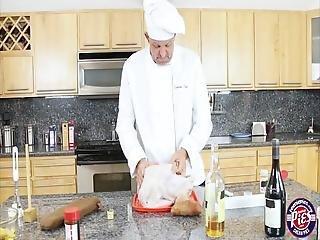 Zaya Cassidy Sucks And Fucks Horny Chef In The Kitchen