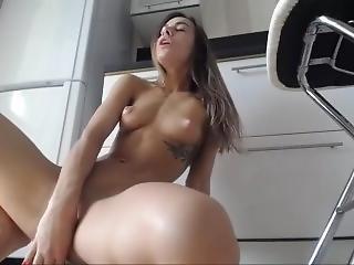 amateur, ongeloofelijk, dildo, masturbatie, solo, webcam