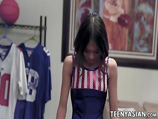 Young Asian Jasmine Grey Begs For Big Cock School Fucking