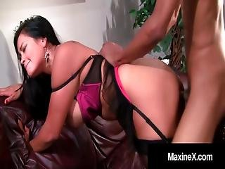 Asian Mommy Maxine-x Butt Fucked In Butthole By Black Cock!