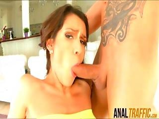 Spanish Beauty With Perfect Butt Samia Duarte Double Fucked