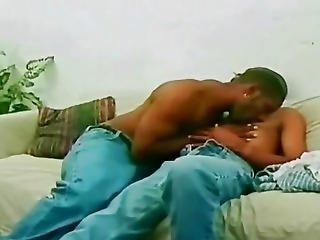 Ebony Gay Gangsta Fucked By Huge Monster Cock