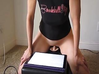 Milf Rides Her Sybian To Orgasm