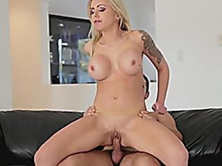Huge Tits Blonde Milf Nina Elle Gets Fucked By Nasty Stepson
