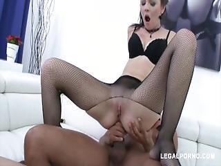 Timea Bella Double Anal %26 Internal Cum Inside Pussy And Ass Sz897