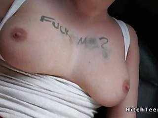 Hairy Pussy Teen Fucks For A Ride Pov
