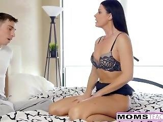 Momsteachsex - Step Mom Punish Fucks Son Part 1