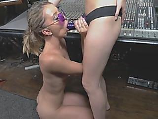 Strapon Bisexual Babes Worship Plastic