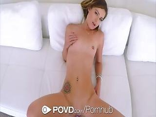 Povd   Avery Moon Flappy Pussy Fingered And Fucked