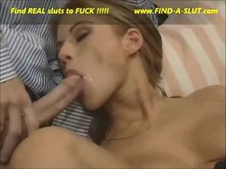 Lovely Blond Slut Facial Cumshot Compilation - Www.find-a-slut.com