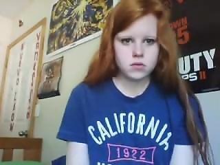 Cute Innocent Irish Teen On Webcam