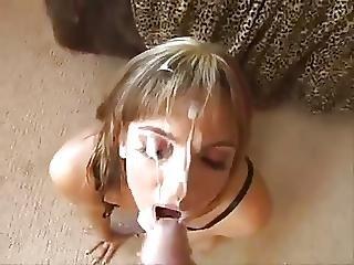 Dirty Babes Taking Facials