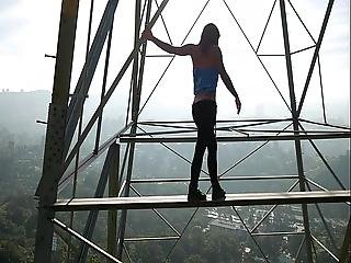 Felicity Feline Ass And Climbing Towers In Los Angeles