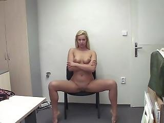 Blonde Hardcore At Casting