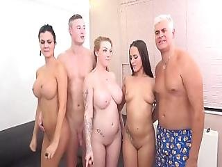 Awesome Foursome With Jasmin Jae And Mea Melone And Harmony Reigns