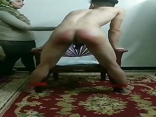 Arab Teenage Girl Punish  Her Boyfriend For Cheating On Her