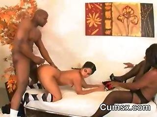 Monster Ass Hoe Threesome Ffm Oral And Hardcore