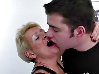 Mother Catches Not Her Son And Fucks Him