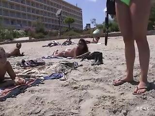 Beach Topless Amanda Interview Full Hd