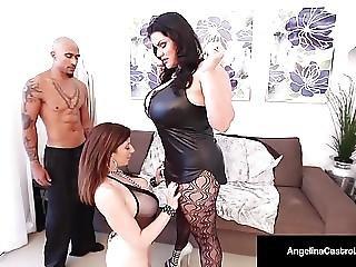 Cuban Bbw Angelina Castro Sara Jay Are Submissive Slaves