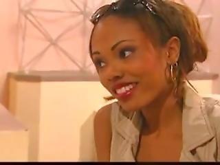 Hot Ebony Lesbian Sistas Getting It On