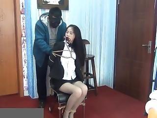 Office Lady In Bondage