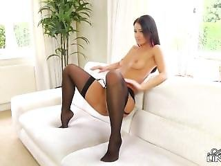 Melisa Mendini Black Stockings