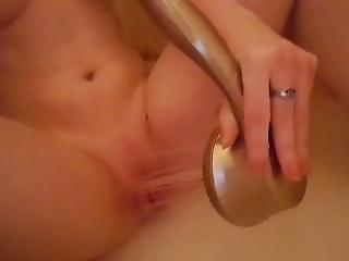 Solo Selfie Showerhead Masturbation - More At Hotnudegirlz_com