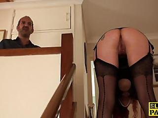 Clitpierced Uk Sub Pounded In Ass Roughly