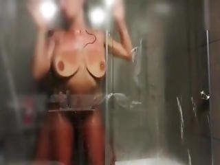 Fucking Girlfriend In The Shower.