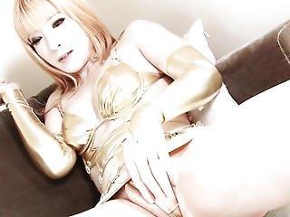 amateur, ano, asiático, buttfuck, acercamiento, sexando, japonese, masturbar, transvestido, lingerie, masturbación, afeitado, transvestida, tgirl