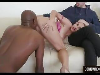 Blonde-wife-black-cock