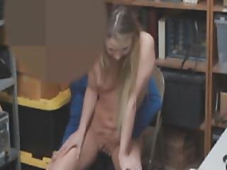 The Officer Told Alyssa Cole To Suck And Bang His Cock And Leave After