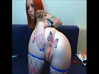 Pierced Inked Russian Hot Camslut - 660cams.com