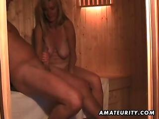 Amateur Wife Masturbates Sucks And Fucks With Cum In Mouth