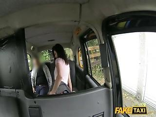 Fake Taxi - Brunette Exhibitionist Loves The Camera E219