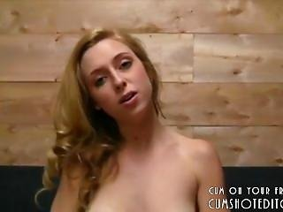 Submissive Blonde Secretary Pleasing Her Boss Part1