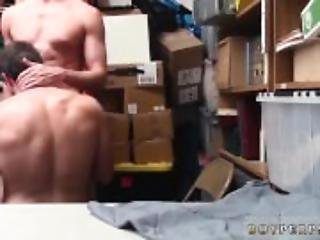 Naked men police having gay sex first time