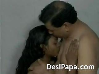 Desi Couple Making Shower While In Shower