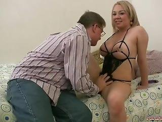 Seducing My Stepfather With Sexy Lingerie