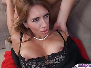 Gf Joins In With Stepmom Fucking Her Man