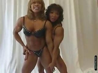 Brenda And Mah Ann Touching