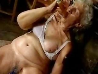 80 Year Old Granny With Sex Toys.