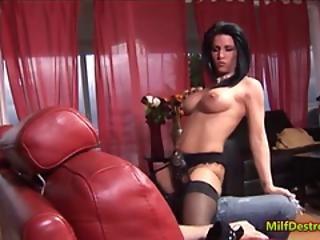 Horny Sexy Milf, Prizes Throbbing Dick