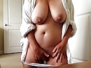 Amatorski, Duże Cycki, Cycek, Pulchna, Masturbacja, Milf, Orgazm
