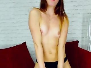 fille webcam, maigre, webcam
