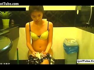 Hidden Cameras In Public Toilet
